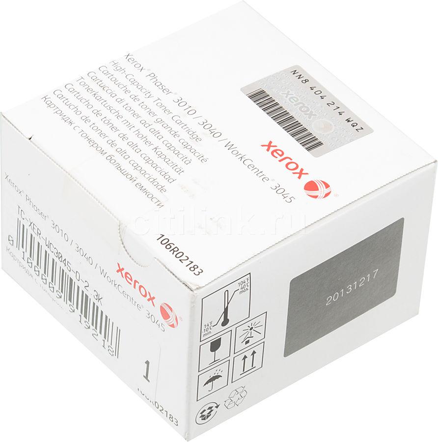 Картридж XEROX 106R02183 черный