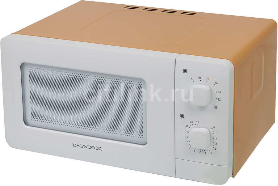 Микроволновая печь DAEWOO KOR-5A07Y, оранжевый
