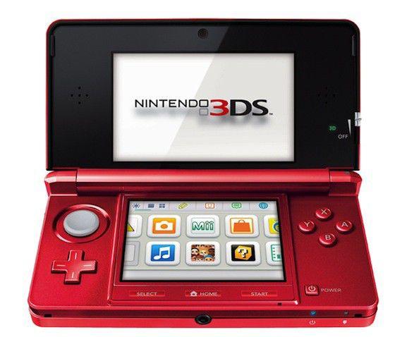 Игровая консоль NINTENDO 3DS 101982, красный