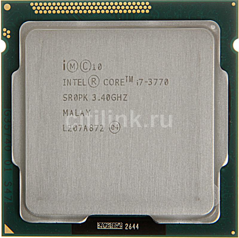 Процессор INTEL Core i7 3770, LGA 1155 * OEM [cm8063701211600sr0pk]