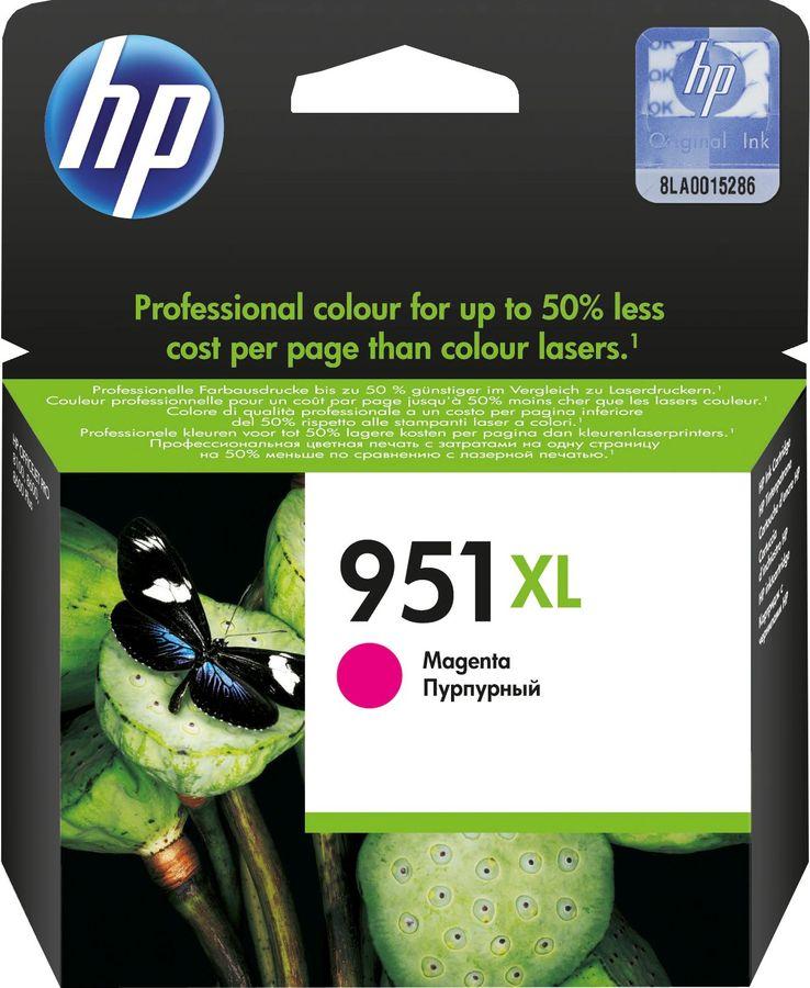 Картридж HP №951XL пурпурный [cn047ae]