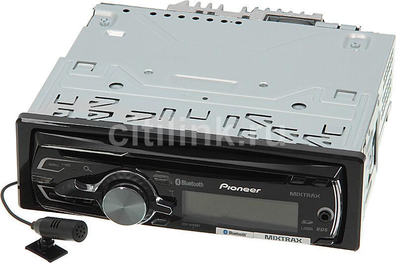 Автомагнитола PIONEER DEH-6400BT,  USB,  SDHC