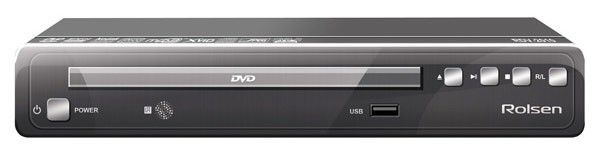 DVD-плеер ROLSEN RDV-2010,  черный