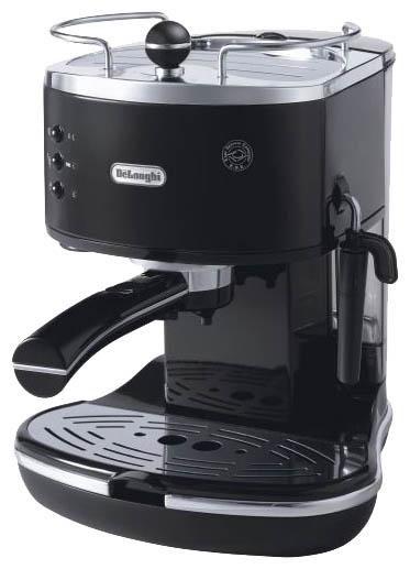 Кофеварка DELONGHI ECO310,  эспрессо,  черный  [eco310.bk]