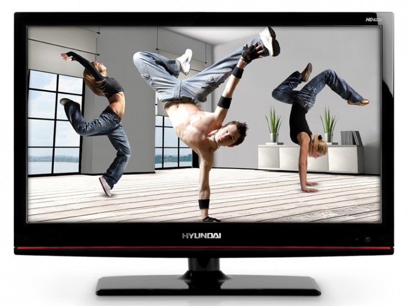 "LED телевизор HYUNDAI H-LED19V7  18.5"", HD READY (720p),  черный"