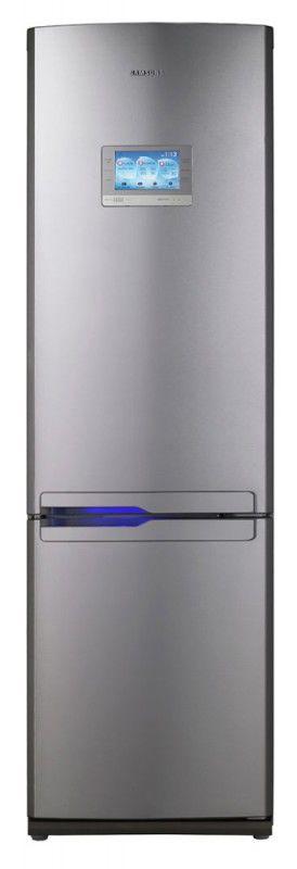 Холодильник SAMSUNG RL55VQBRS,  двухкамерный,  серебристый [rl55vqbrs1/bwt]