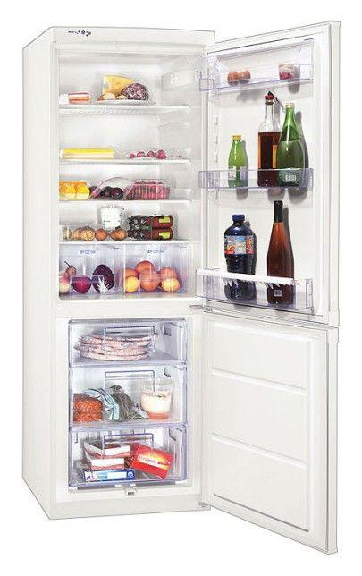 Холодильник ZANUSSI ZRB334WO,  двухкамерный,  белый