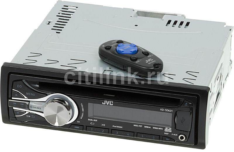Автомагнитола JVC KD-SD631EY,  USB,  SDHC