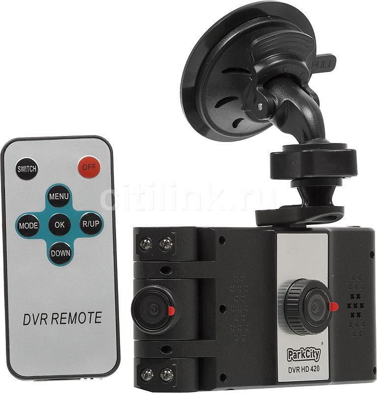 Видеорегистратор PARKCITY DVR HD420 черный
