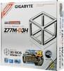 Материнская плата GIGABYTE GA-Z77M-D3H LGA 1155, mATX, Ret вид 6