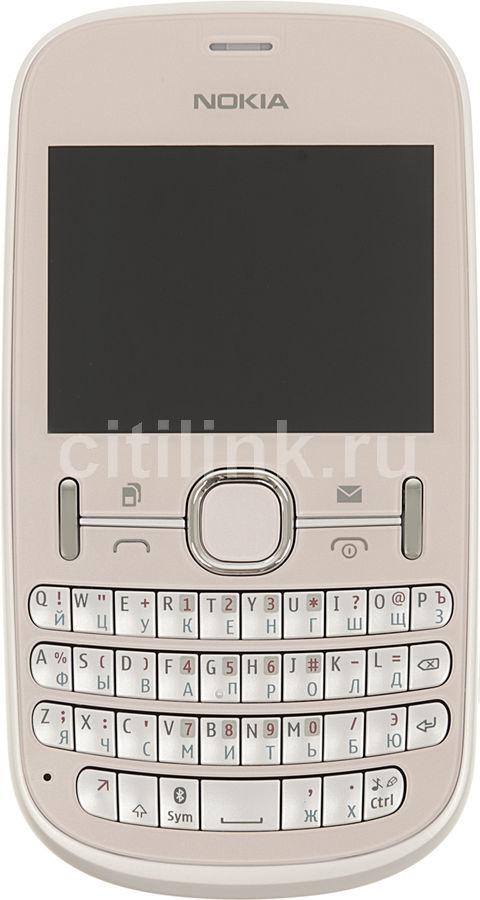 Мобильный телефон NOKIA Asha 200,  светло-розовый