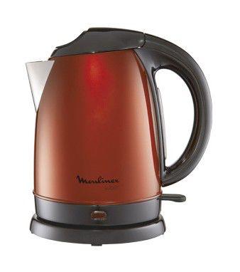 Чайник электрический MOULINEX BY 530531, 2400Вт, красный и черный