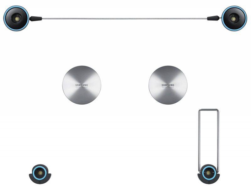 Кронштейн для телевизора Samsung WMN1000C серебристый 58