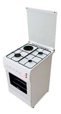 Газовая плита ARDO C 631 EB,  электрическая духовка,  белый