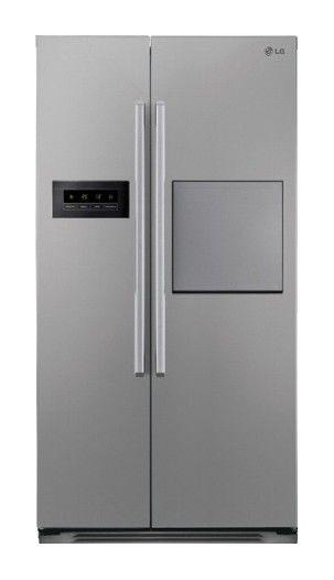 Холодильник LG GW-C207QLQA,  двухкамерный,  серебристый