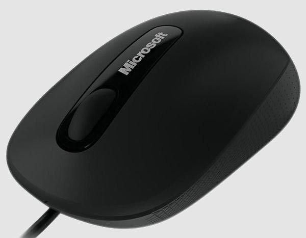 Мышь MICROSOFT Comfort 3000 оптическая проводная USB, черный [5aj-00003]