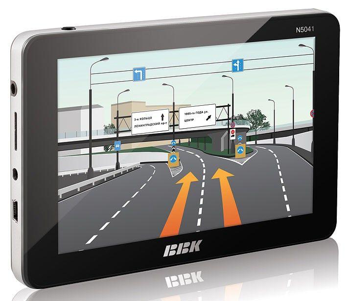 GPS навигатор BBK N5041,  5