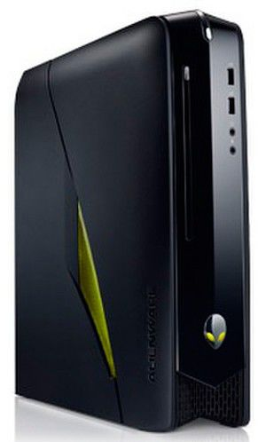 Компьютер  DELL Alienware X51,  Intel  Core i5  2320,  DDR3 8Гб, 1Тб,  nVIDIA GeForce GTX 555 - 1024 Мб,  DVD-RW,  Windows 7 Home Premium,  черный [210-38904]