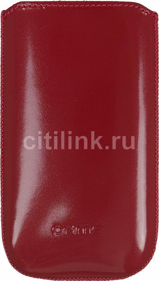 Чехол (футляр) DEPPA Prime Classic, для Samsung Wave 525/723, красный (лак) [005]