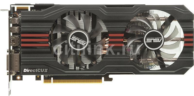 Видеокарта ASUS Radeon HD 7850,  2Гб, GDDR5, Ret [hd7850-dc2-2gd5]