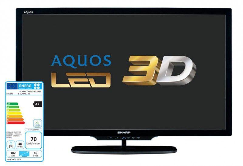 LED телевизор SHARP Aquos LC-40LE730RU  40