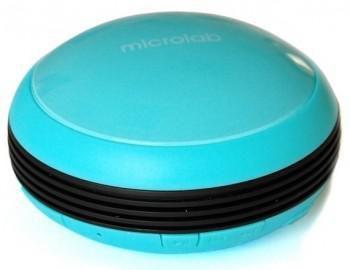 Портативная колонка MICROLAB MD112,  1Вт, голубой  [md112 blue]