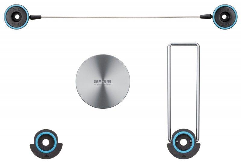 Кронштейн для телевизора Samsung WMN2000BX серебристый 40
