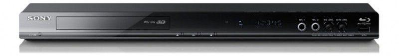 Плеер Blu-ray SONY BDP-S485, диск, черный