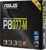 Материнская плата ASUS P8Q77-M LGA 1155, mATX, Ret вид 6