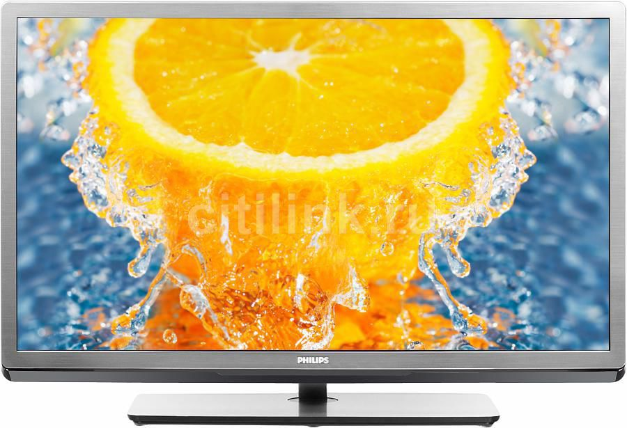"LED телевизор PHILIPS 32PFL5507T/60  ""R"", 32"", 3D,  FULL HD (1080p),  серебристый"