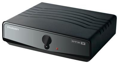 Ресивер DVB-T ROLSEN RDB-103,  черный