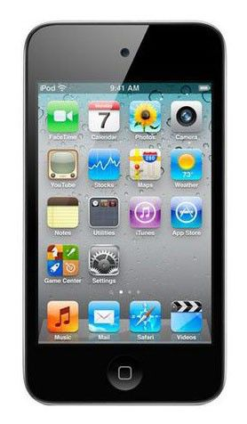 MP3 плеер APPLE iPod Touch 4 flash 8Гб белый