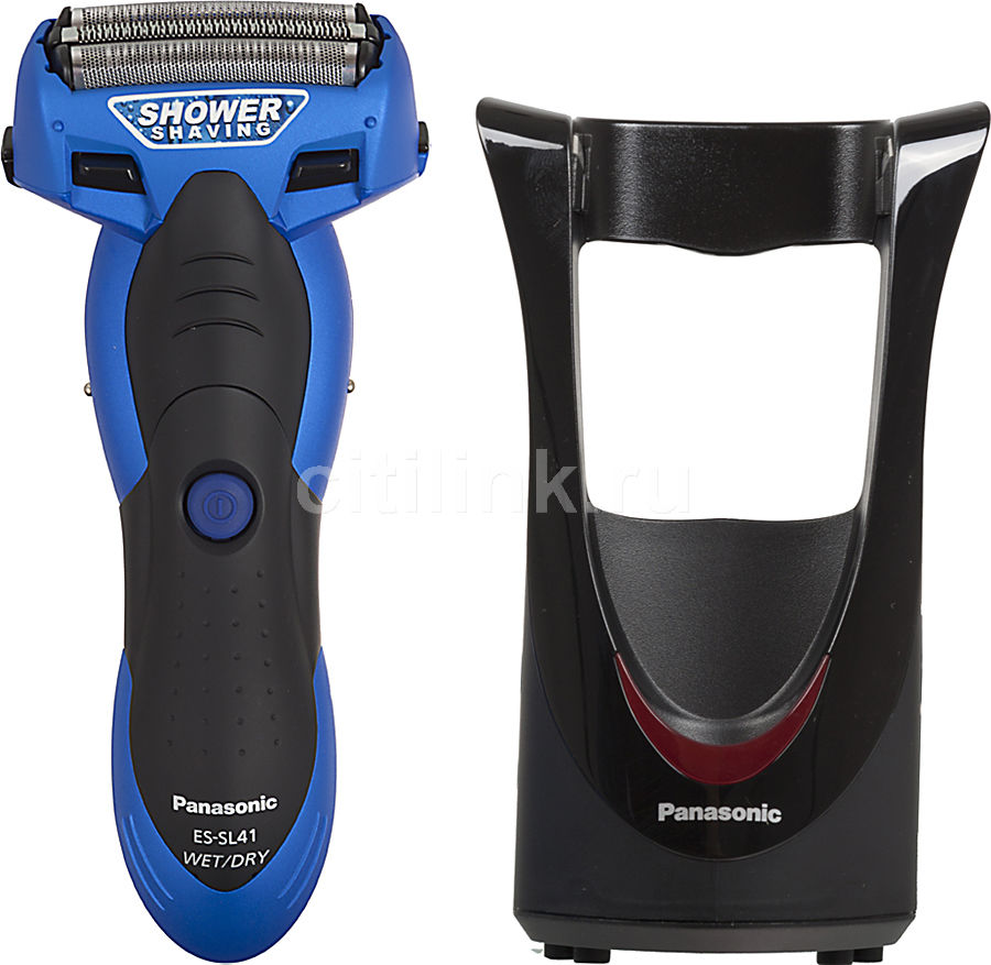Электробритва PANASONIC ES-SL41-A520,  синий и черный