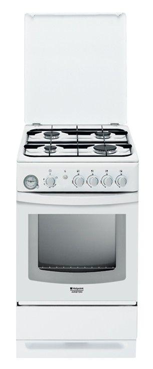 Газовая плита HOTPOINT-ARISTON C34S G37(W),  газовая духовка,  белый