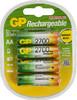 Аккумулятор GP 270AAHC,  4 шт. AA,  2700мAч вид 1