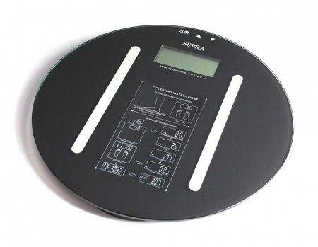 Напольные весы SUPRA BSS-6700, до 150кг, цвет: черный [1266]