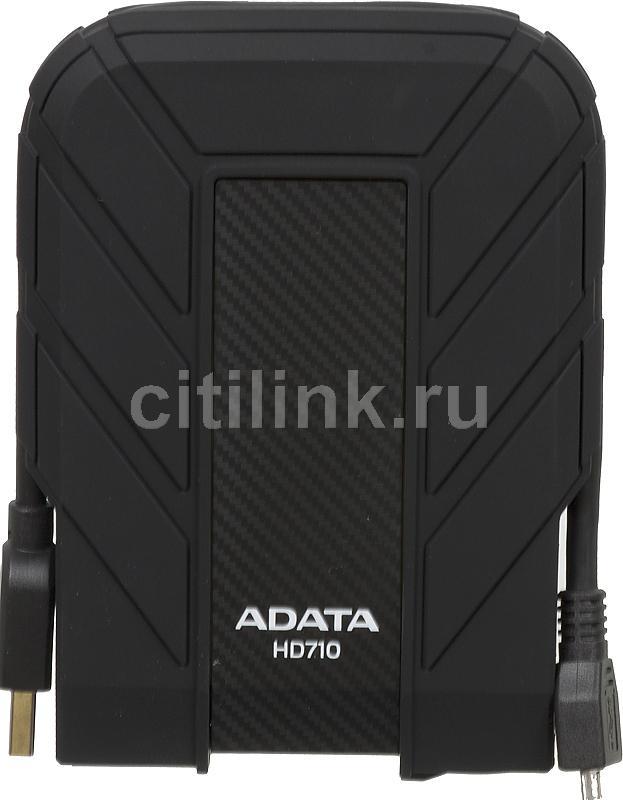 Внешний жесткий диск A-DATA DashDrive Durable HD710, 1Тб, черный [ahd710-1tu3-cbk]