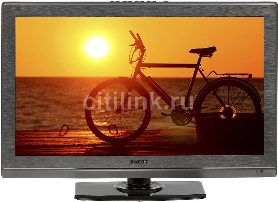 "LED телевизор FUSION FLTV-D22H11  ""R"", 21.6"", c DVD плеером,  серый"