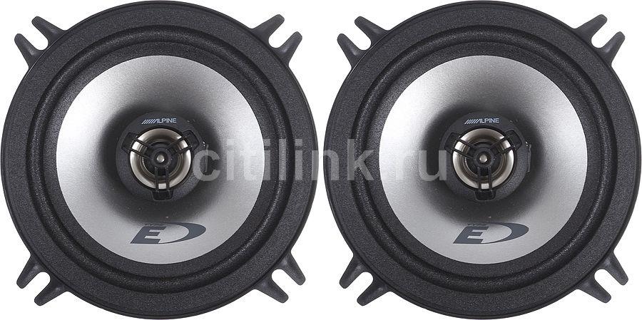 Колонки автомобильные ALPINE Custom Fit SXE-1325S,  коаксиальные,  200Вт