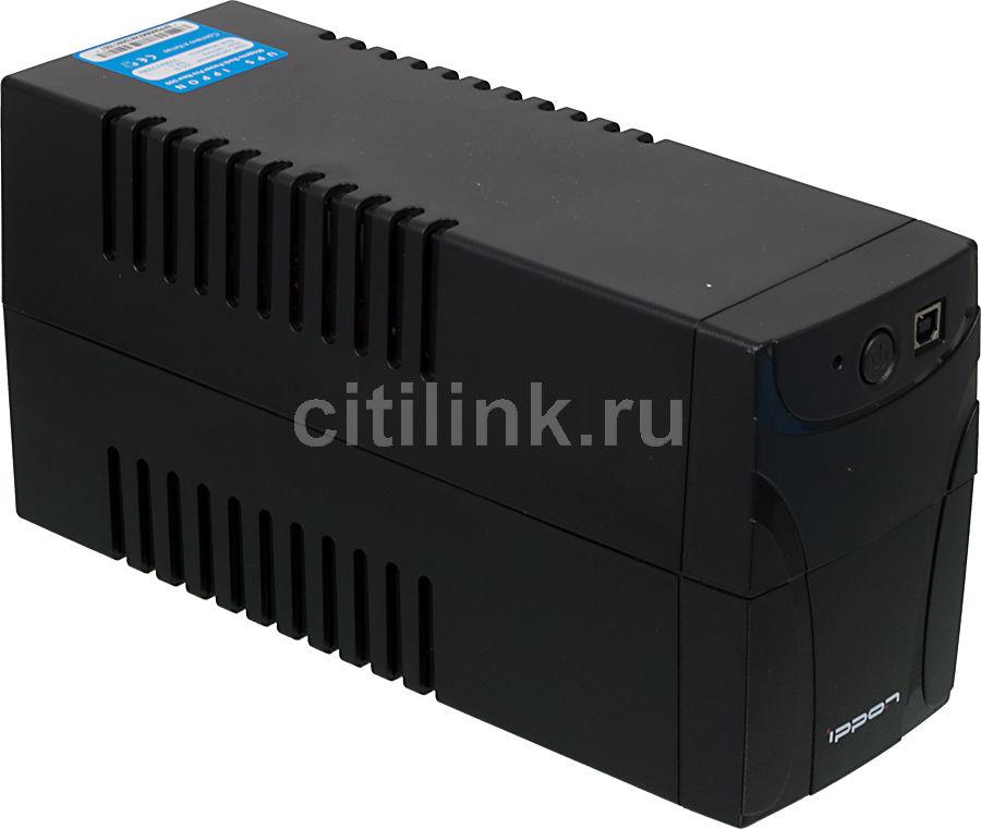 Источник бесперебойного питания IPPON Back Power Pro 500 New,  500ВA