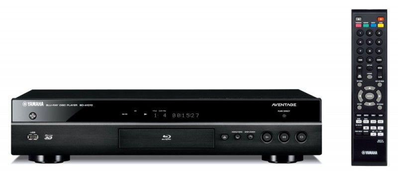 Плеер Blu-ray YAMAHA BD-A1010, черный