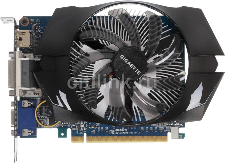 Видеокарта GIGABYTE GeForce GT 640,  GV-N640OC-2GI,  2Гб, DDR3, Ret