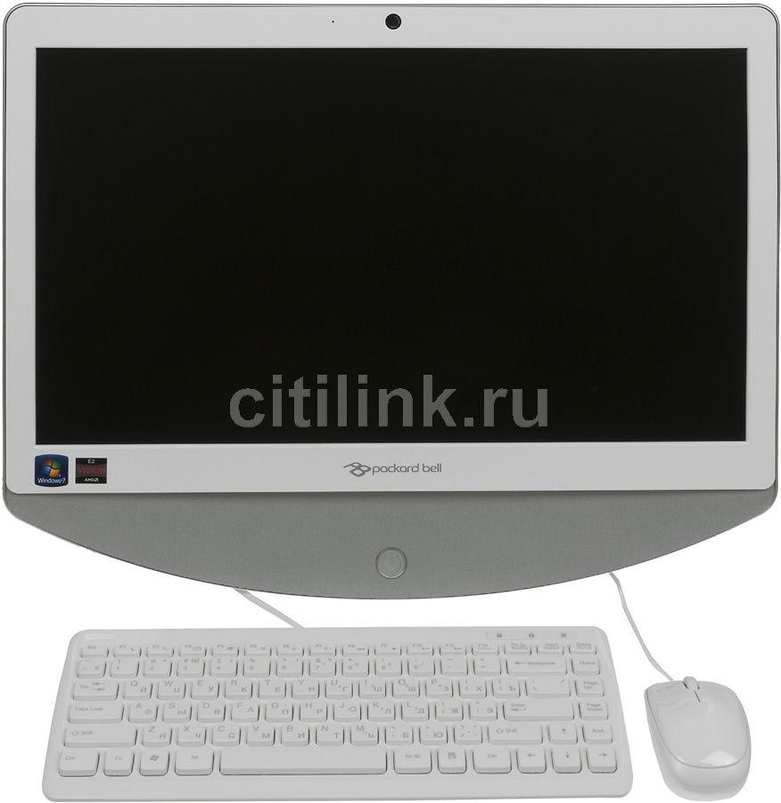 Моноблок ACER Packard Bell oneTwo S3230, AMD E2 1800, 4Гб, 500Гб, AMD Radeon HD 7340, DVD-RW, Windows 7 Home Basic, белый и серебристый [do.u7der.001]