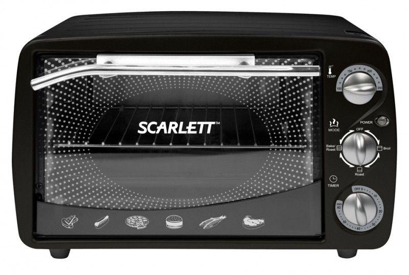 Электропечь SCARLETT SC-099,  черный