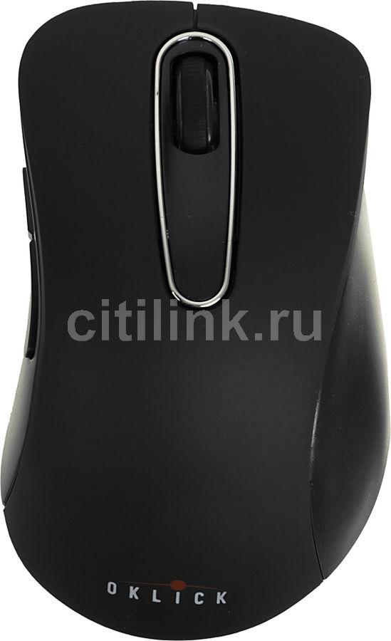 Мышь OKLICK 335MW оптическая беспроводная USB, черный [wm-697]