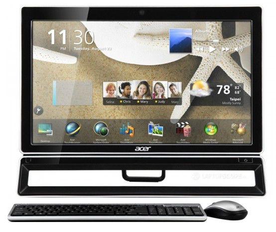 Моноблок ACER Aspire Z5771, Intel Core i5 2400S, 4Гб, 1000Гб, nVIDIA GeForce GT630 - 2048 Мб, DVD-RW, Windows 7 Home Premium, черный и серебристый [do.sl1er.003]