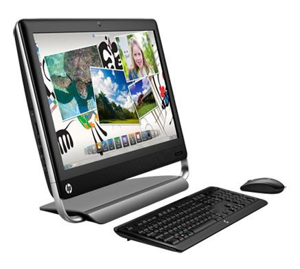 Моноблок HP TouchSmart 520-1204er, Intel Pentium Dual-Core G640, 6Гб, 1000Гб, Intel HD Graphics, DVD-RW, Windows 7 Home Premium, черный [b7g79ea]