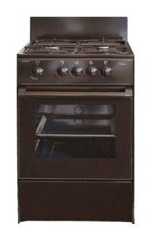 Газовая плита DARINA S GM 441 001 B,  газовая духовка,  черный