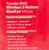 Мышь GENIUS Traveler 8000 оптическая беспроводная USB, черный [31030054101] вид 10