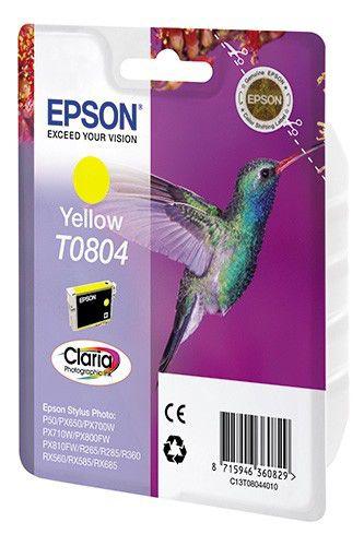 Картридж EPSON T0804 желтый [c13t08044011]